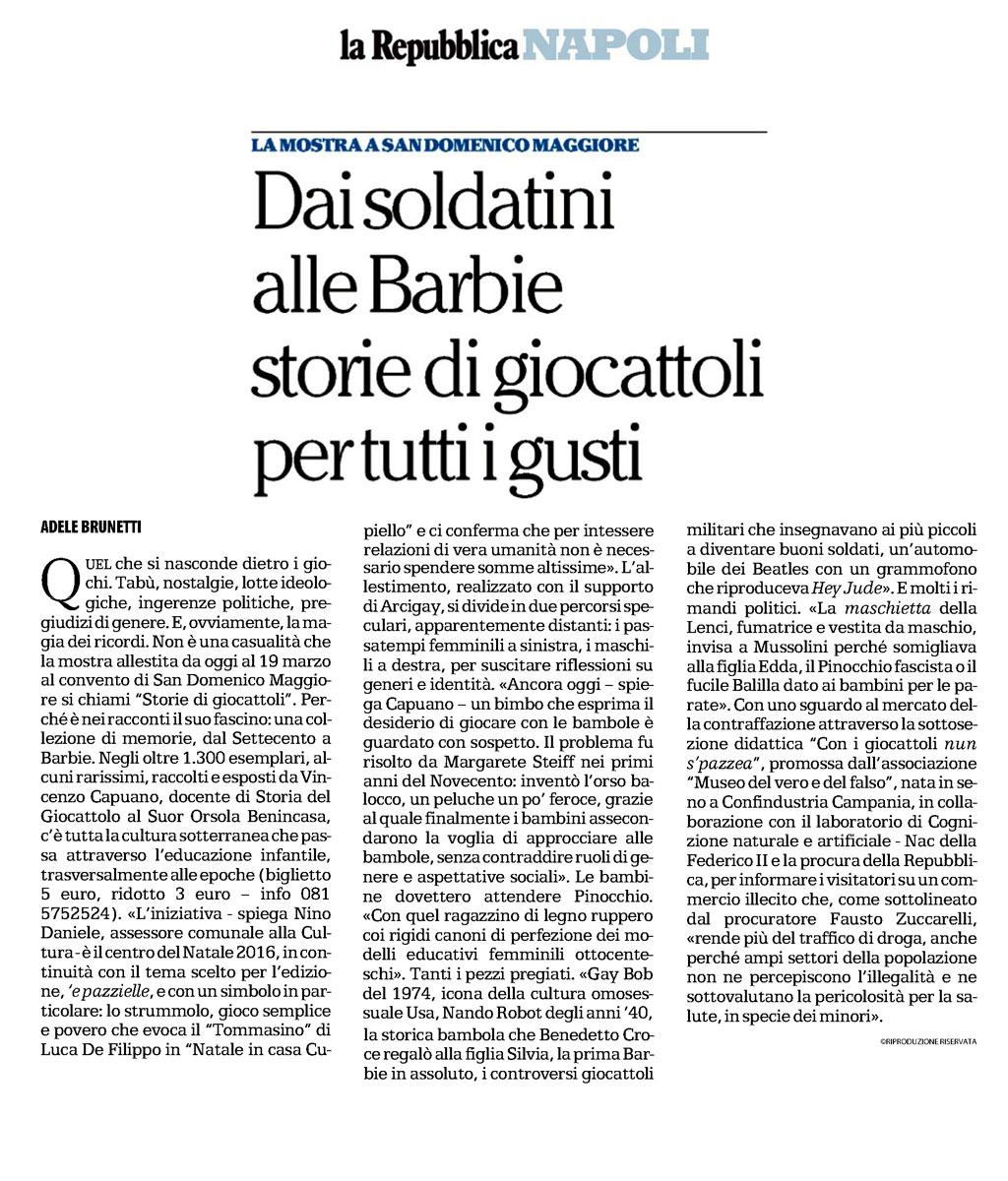 La Repubblica | Museo del Vero e del Falso