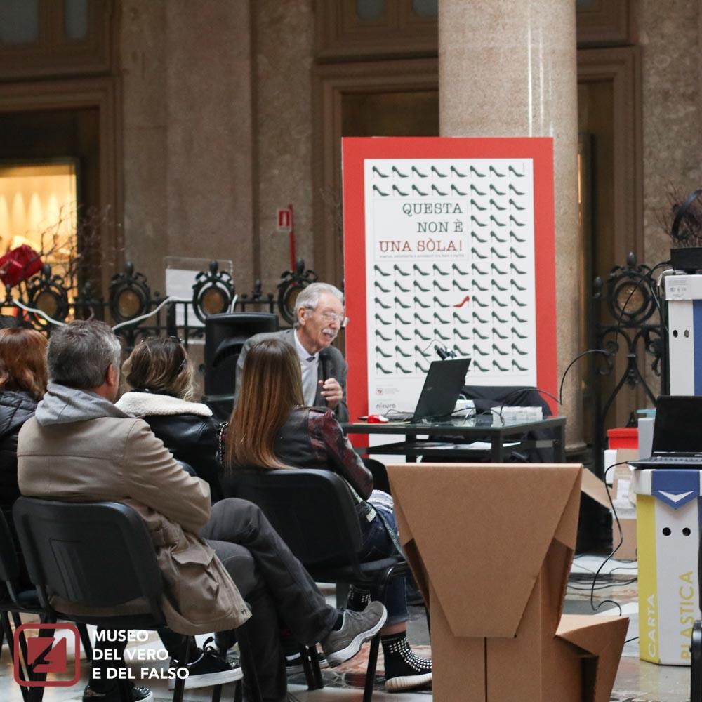 La Scarpetta di vera pelle - Laboratori anti-fake tra scienza pelletteria e fiabe - Museo del Vero e del Falso